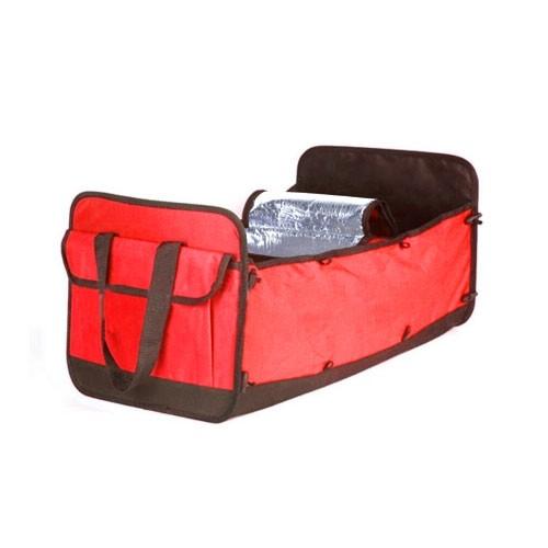 Car Ez Trunk Organizer Cooler (Besar & Kecil) - Red