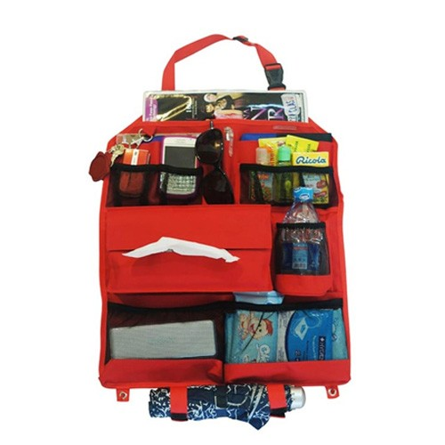Car Seat Organizer Front  (CSO-F) - Red
