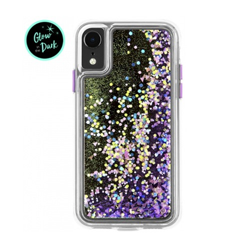 Casemate iPhone XR  Waterfall - Purple Glow