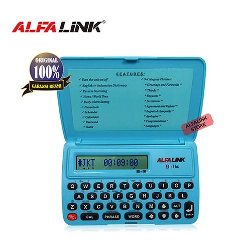 Alfalink Electronic Dictionary EI 16S Blue