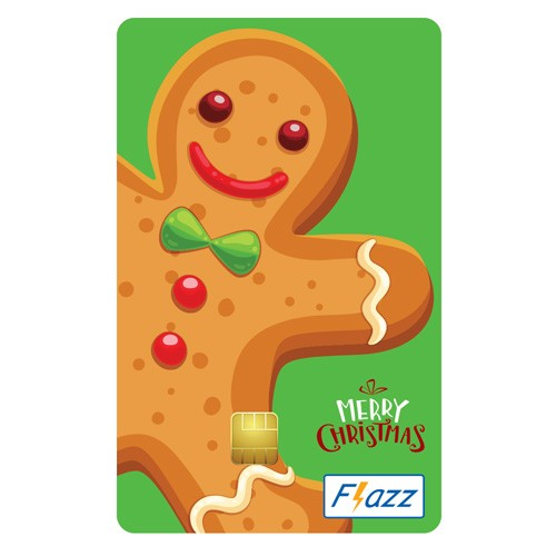 BCA Flazz Christmas - Ginger Bread
