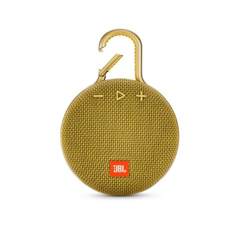 JBL Speaker Bluetooth Portable Clip 3 - Mustard Yellow