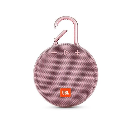 JBL Speaker Bluetooth Portable Clip 3 - Dusty Pink