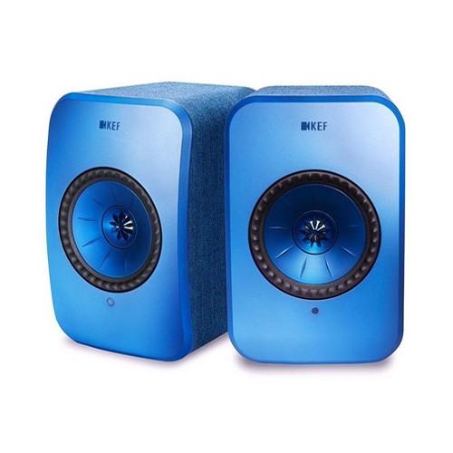 KEF LSX Wireless Speaker - Blue