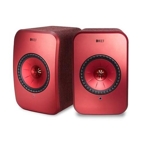 KEF LSX Wireless Speaker - Red