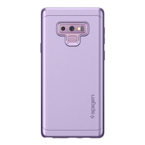 Spigen Case Thin Fit 360 (Glass Screen Protector) for Galaxy Note 9 - Lavender