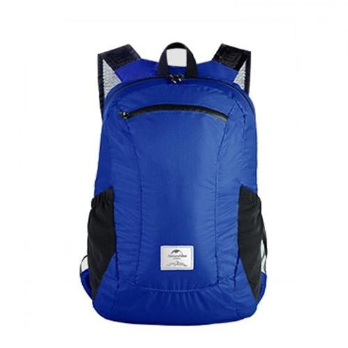 Naturehike NH17A012-B 18L Camping Waterproof Folding Backpack - Blue