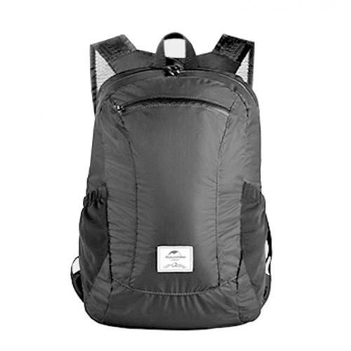 Naturehike NH17A012-B 18L Camping Waterproof Folding Backpack - Black