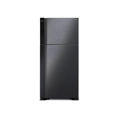 Hitachi Kulkas 2 Pintu - R-V70PGD7 BBK - Brilliant Black