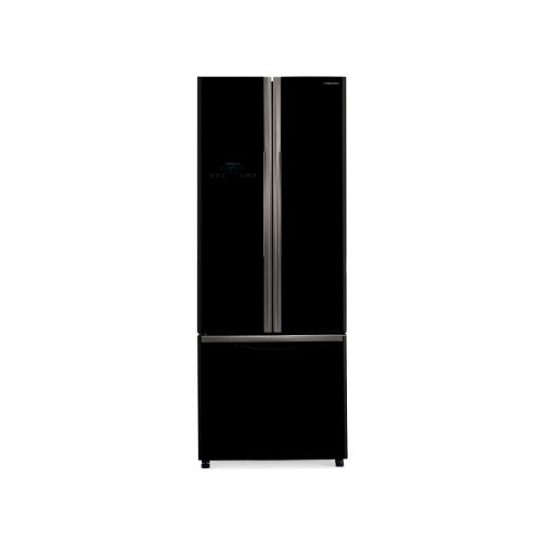 Hitachi Kulkas 3 Pintu - R-WB48PGD2 GBK - Glass Black