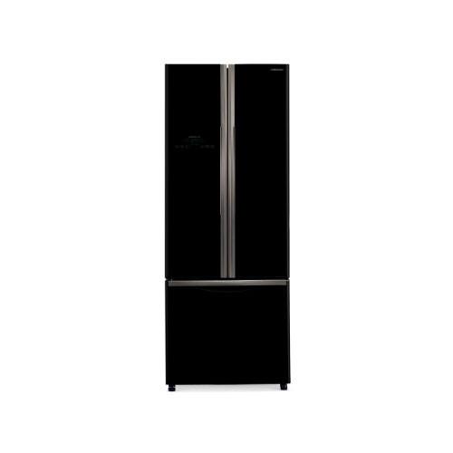 Hitachi Kulkas 3 Pintu - R-WB48PGD2 GBK - Glass Black (Jakarta)