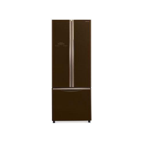 Hitachi French Bottom Freezer 3Door -  R-WB48PGD2 GBW - Glass Brown (Jakarta)