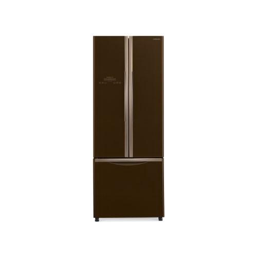 Hitachi French Bottom Freezer 3 Door - R-WB55PGD2 GBW - Glass Brown