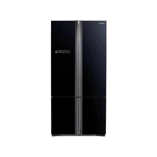 Hitachi Kulkas 4 Pintu - R-WB80PGD5 GBK - Glass Black (Jakarta)