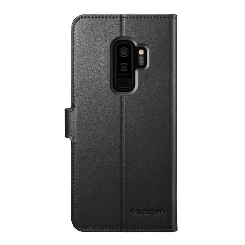 Spigen Case Wallet S for Galaxy S9+ - Black