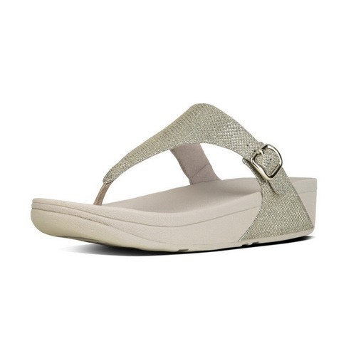 Fitflop The Skinny Sparkle, Pale Gold, (5)