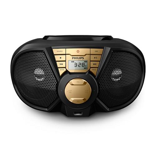 Philips USB 5W CD Soundmachine PX3115G - Black/Gold