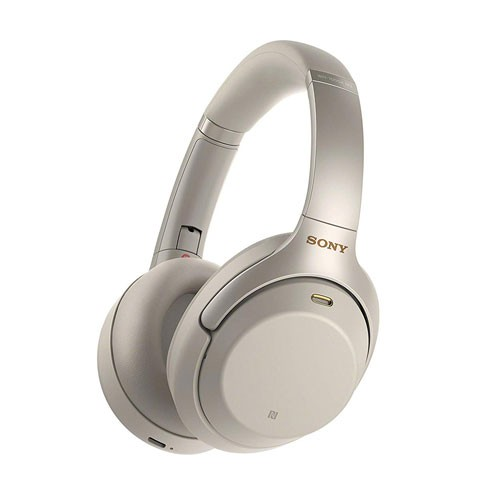 Sony Wireless Noise-Cancelling Headphones WH-1000XM3/S - Silver