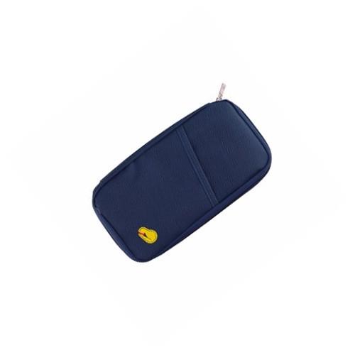 Wallet Organizer / Travelus Passport Holder Dompet Kartu Paspor - Dark Blue