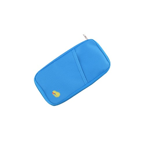 Wallet Organizer / Travelus Passport Holder Dompet Kartu Paspor - Light Blue