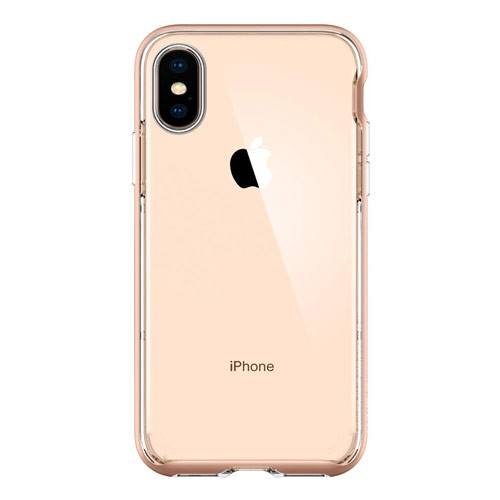 Spigen Case Neo Hybrid Crystal for iPhone XS / X - Gold