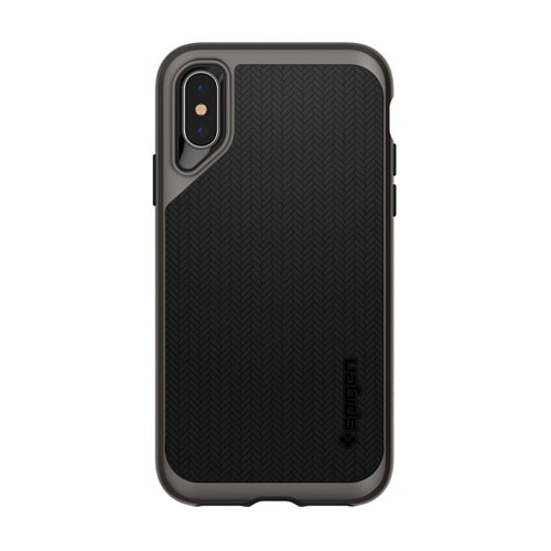 Spigen Case Neo Hybrid for iPhone XS / X  - Gunmetal