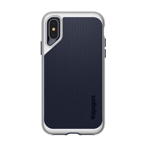 Spigen Case Neo Hybrid for iPhone XS / X- Satin Silver