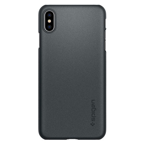 Spigen Case Thin Fit for iPhone XS Max - Graphite Gray