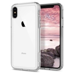 Spigen Crystal Hybrid Case for iPhone XS - Crystal Clear