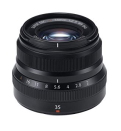 Fujifilm Fujinon Lens XF 35 MM F2.0 R WR - Black