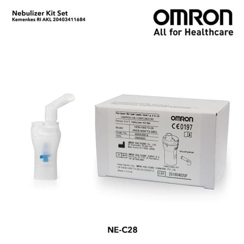 OMRON Nebulizer Kit Set NE-C28/NE-C29