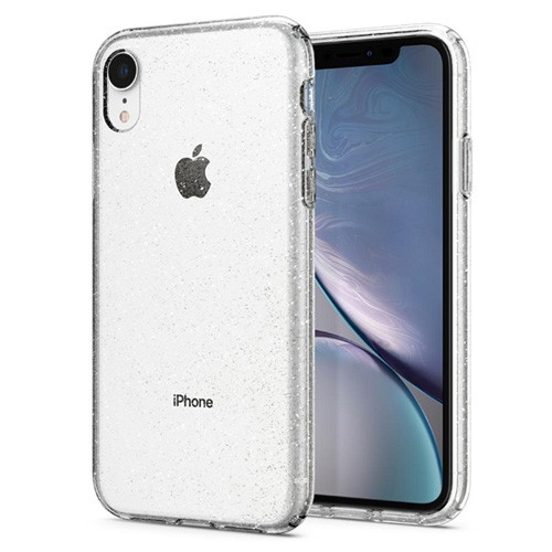 Spigen Liquid Crystal Glitter Case for iPhone XR - Crystal Quartz