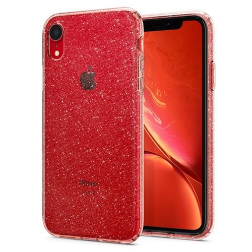 Spigen Liquid Crystal Glitter Case for iPhone XR - Rose Quartz