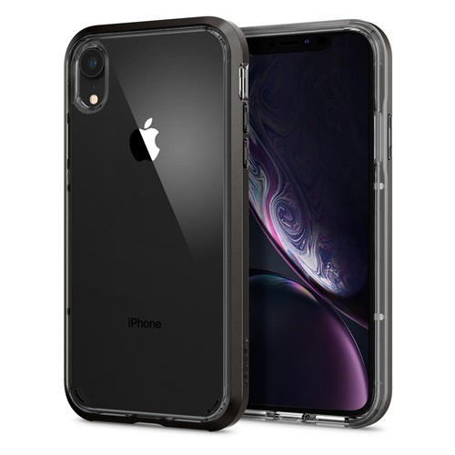 Spigen Neo Hybrid Crystal Case for iPhone XR - Gunmetal