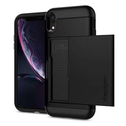 Spigen Slim Armor CS Case for iPhone XR - Black