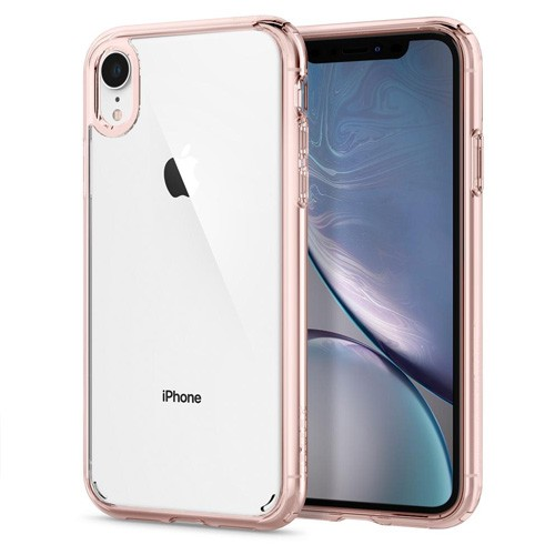 Spigen Ultra Hybrid Case for iPhone XR - Rose Crystal