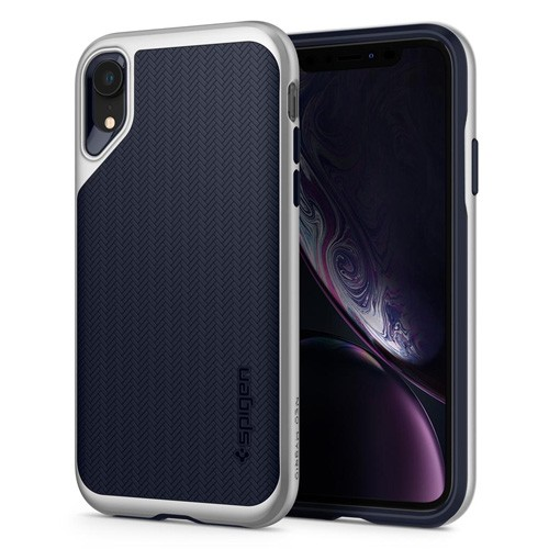 Spigen Neo Hybrid Case for iPhone XR - Satin Silver