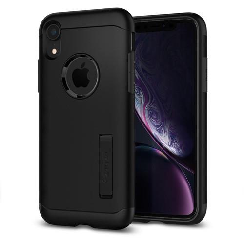 Spigen Slim Armor Case for iPhone XR - Black