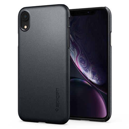 Spigen Thin Fit Case for iPhone XR - Graphite Gray