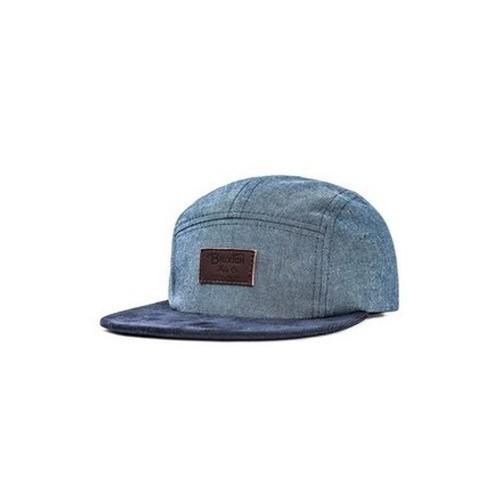 Brixton Grade 5 Panel Cap Light Blue/Navy (OS) Headwear MN