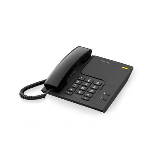 Alcatel Single Line Telephone T26 Black