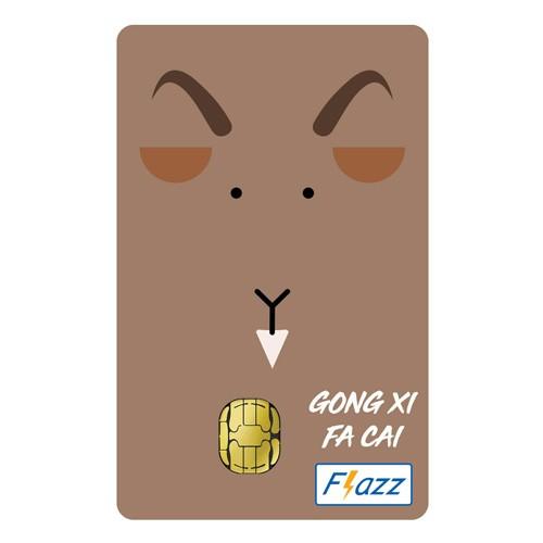 BCA Flazz Edisi Imlek - Kambing