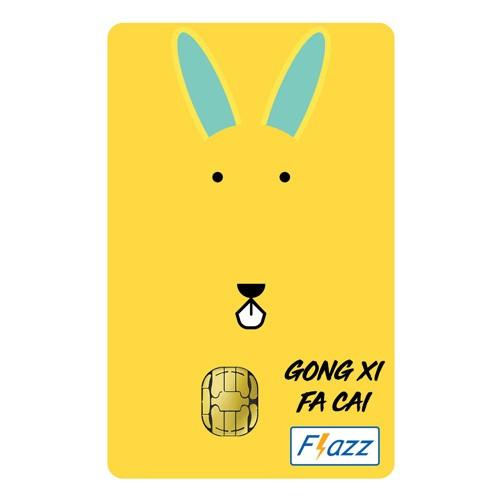 BCA Flazz Edisi Imlek - Kelinci