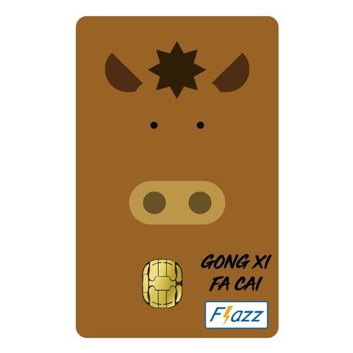 BCA Flazz Edisi Imlek - Kuda