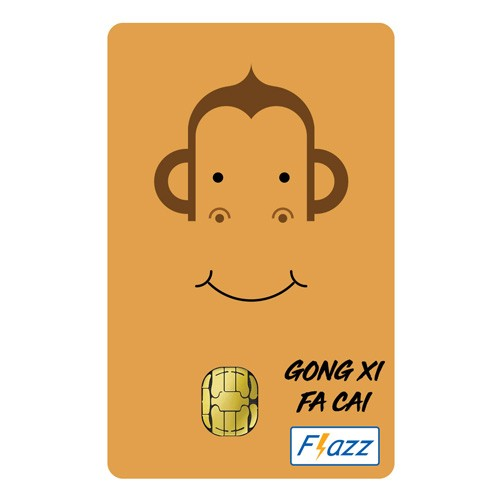 BCA Flazz Edisi Imlek - Monyet
