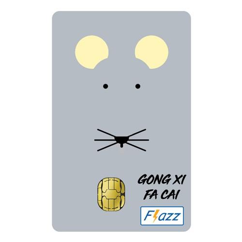 BCA Flazz Edisi Imlek - Tikus