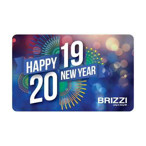 Brizzi BRI Happy New Year 2019