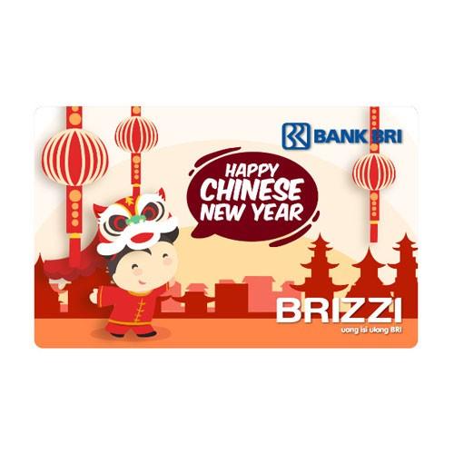 Brizzi BRI Zodiac Bus Card Finished Artwork - Happy Chinese New Year