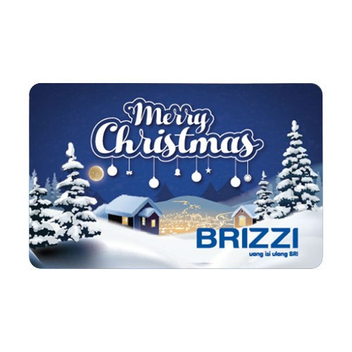 Brizzi BRI Merry Christmas - Blue