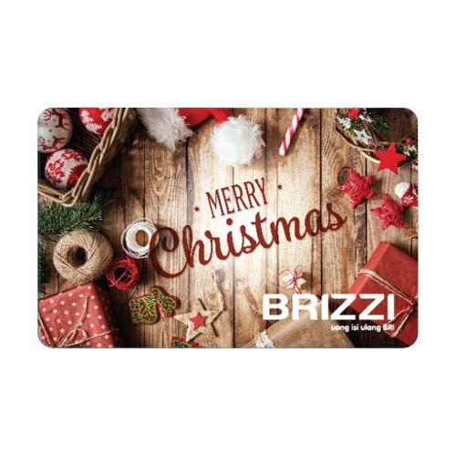 Brizzi BRI Merry Christmas - Red